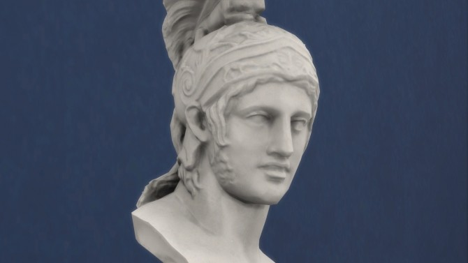 Sims 4 Bust of Ares by TheJim07 at Mod The Sims