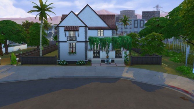 Sims 4 Family house furnished with kitchen and bathroom by ElvinGearMaster at Mod The Sims