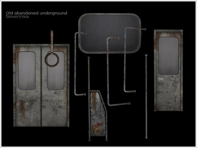 Old abandoned underground by Severinka at TSR image 788 670x505 Sims 4 Updates