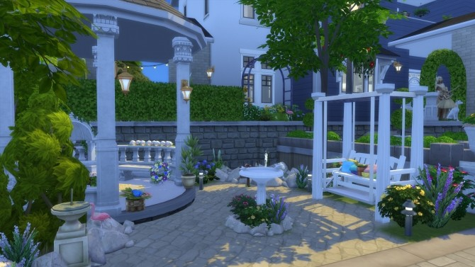 Sims 4 Nautical Living house by Ilvan at Mod The Sims