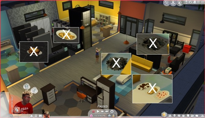 No roommates carry food back home and litter by Szemoka at Mod The Sims image 7914 670x385 Sims 4 Updates