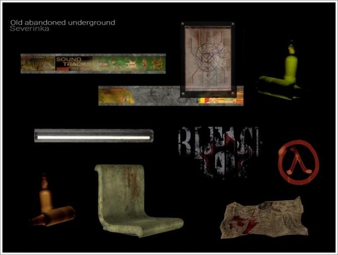 Old abandoned underground by Severinka at TSR image 798 670x505 Sims 4 Updates