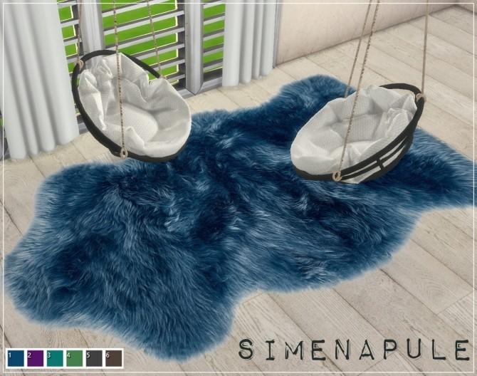 Sims 4 Julia Rug by Ronja at Simenapule