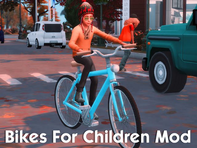 Bikes For Children Mod at MSQ Sims image 8115 Sims 4 Updates