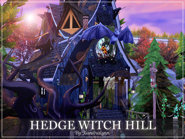 Hedge Witch Hill by Xandralynn at TSR image 816 Sims 4 Updates