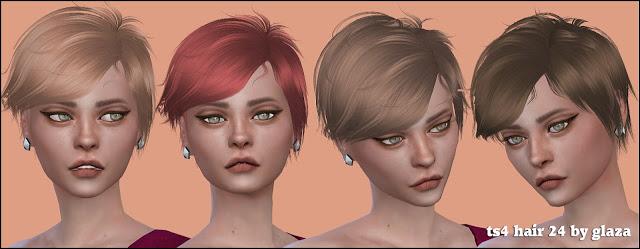Sims 4 Hair 24 (P) at All by Glaza