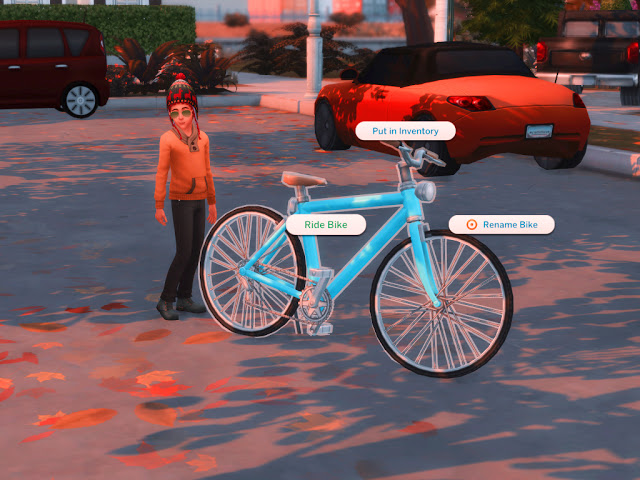 Sims 4 Bikes For Children Mod at MSQ Sims