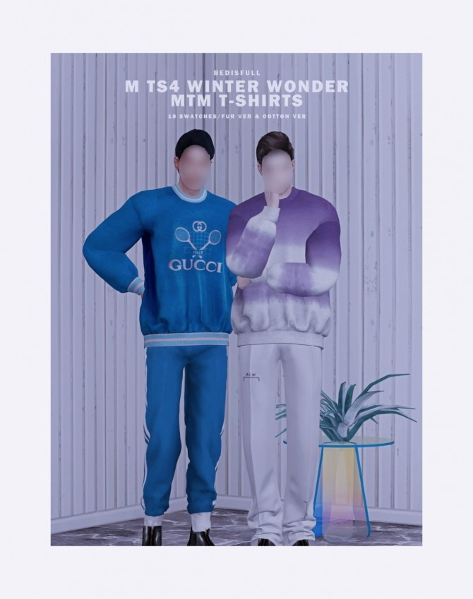 M winter wonder mtm t shirts at Bedisfull – iridescent image 8222 670x849 Sims 4 Updates