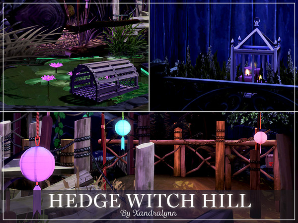 Hedge Witch Hill by Xandralynn at TSR image 823 Sims 4 Updates