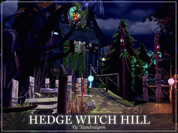 Hedge Witch Hill by Xandralynn at TSR image 833 Sims 4 Updates