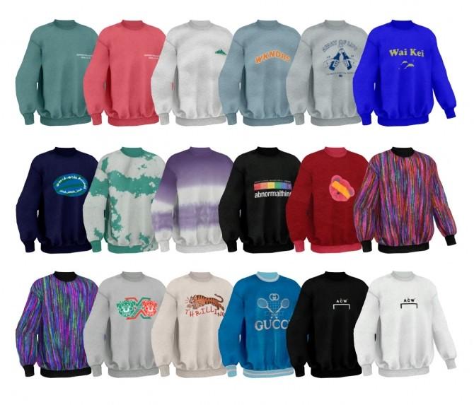M winter wonder mtm t shirts at Bedisfull – iridescent image 8419 670x573 Sims 4 Updates