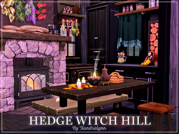 Hedge Witch Hill by Xandralynn at TSR image 843 Sims 4 Updates