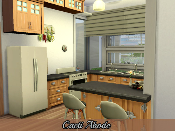 Cacti Abode modern home by Mini Simmer at TSR image 850 Sims 4 Updates