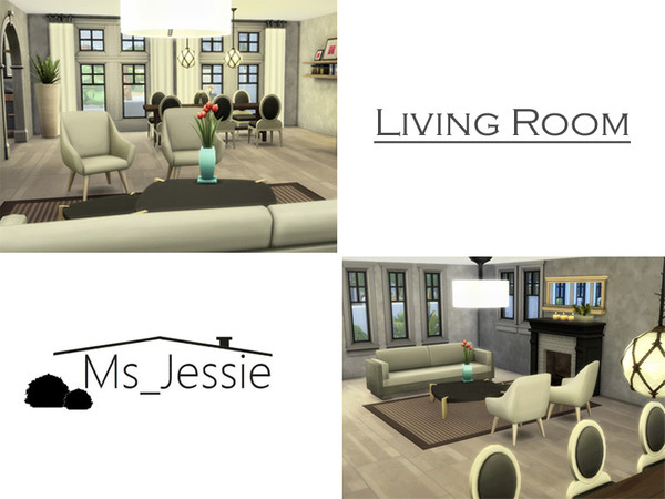 Sims 4 Town Villa by Ms Jessie at TSR