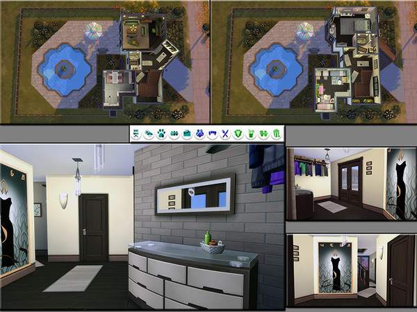 Sims 4 MB Barke in Between house by matomibotaki at TSR