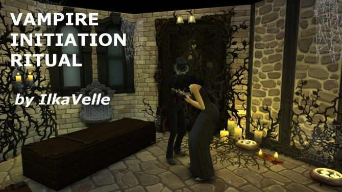Sims 4 Event: Vampire Initiation Ritual by IlkaVelle at Mod The Sims