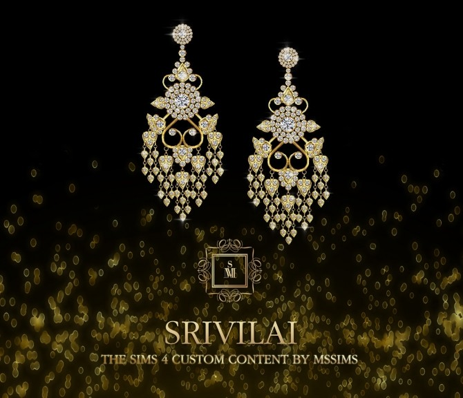 SRIVILAI earrings (P) at MSSIMS image 876 670x576 Sims 4 Updates