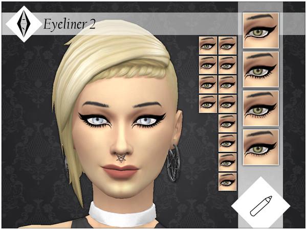 Sims 4 Eyeliner 2 by AleNikSimmer at TSR