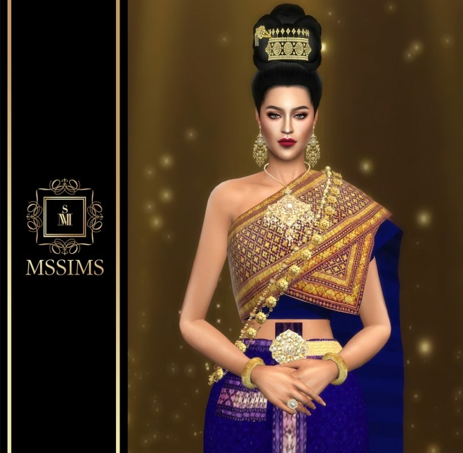 SRIVILAI earrings (P) at MSSIMS image 886 670x655 Sims 4 Updates