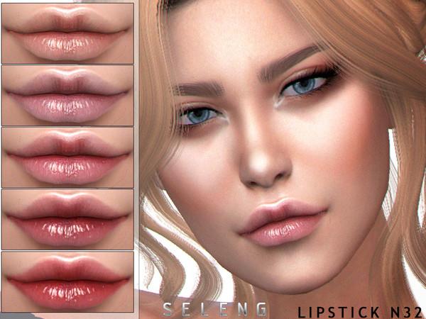 Sims 4 Lipstick N32 by Seleng at TSR