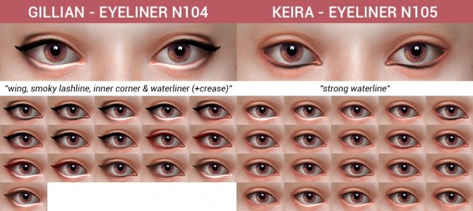 10 Eyeliners Dump collection at Praline Sims image 9010 670x300 Sims 4 Updates