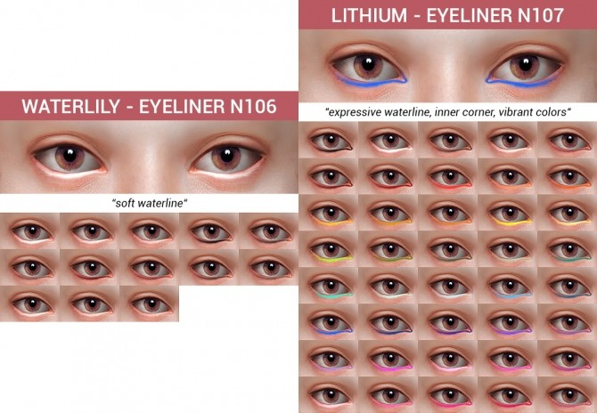 10 Eyeliners Dump collection at Praline Sims image 9115 670x464 Sims 4 Updates