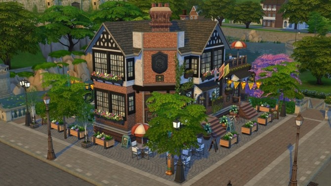 PRIDE OF BRITECHESTER old and cozy pub at Fab Flubs image 9212 670x377 Sims 4 Updates