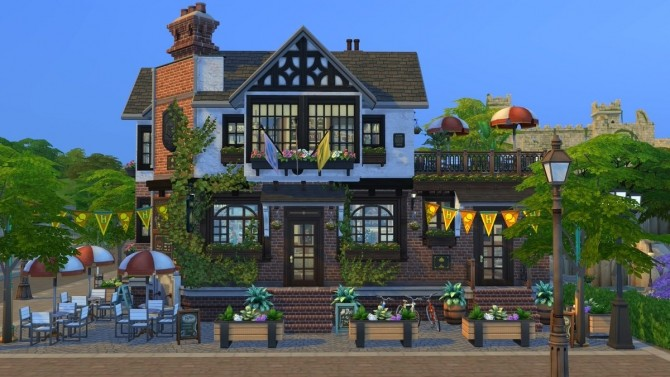 PRIDE OF BRITECHESTER old and cozy pub at Fab Flubs image 9311 670x377 Sims 4 Updates