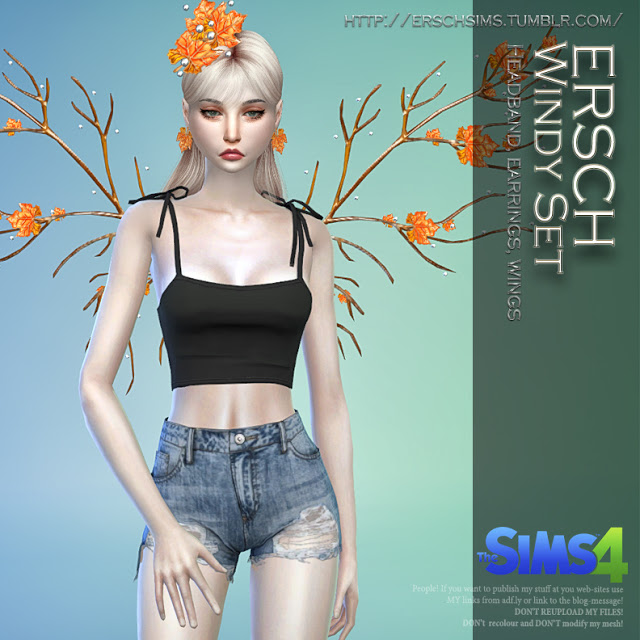 Sims 4 Windy Set at ErSch Sims