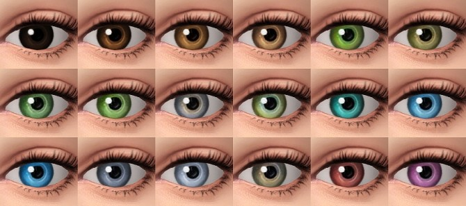 Dazzling light Maxis Match eyes at Praline Sims image 967 670x297 Sims 4 Updates