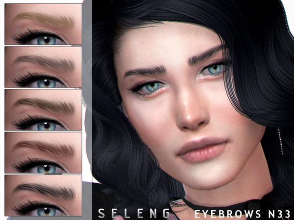 Eyebrows N33 by Seleng at TSR image 973 Sims 4 Updates