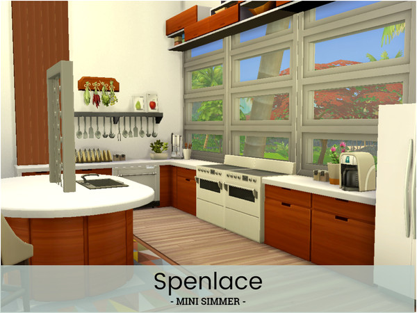 Sims 4 Spenlace home by Mini Simmer at TSR