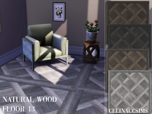 Sims 4 Natural Wood Floor 13 by celinaccsims at TSR
