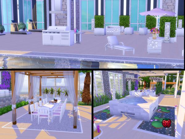 Sims 4 Carol home by melapples at TSR