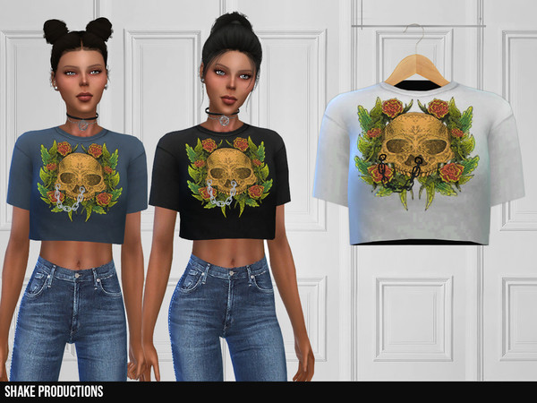 Sims 4 354 T Shirt by ShakeProductions at TSR