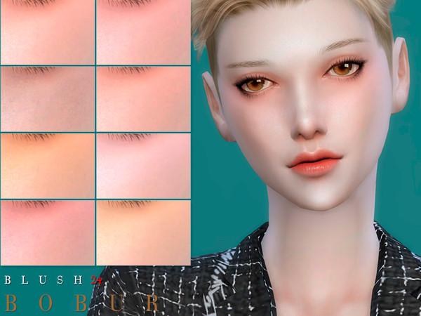 Sims 4 Blush 24 by Bobur3 at TSR
