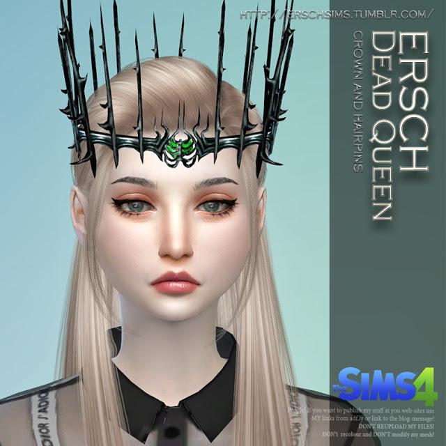 Sims 4 Dead Queen Set at ErSch Sims