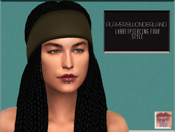 Labret Piercing at PW's Creations image 1086 670x503 Sims 4 Updates