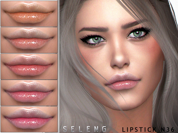 Sims 4 Lipstick N36 by Seleng at TSR