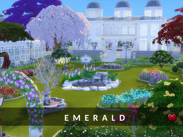 Emerald Gardens by melapples at TSR image 1124 Sims 4 Updates