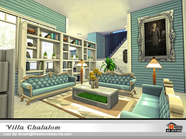 Sims 4 Villa Chalalom by autaki at TSR