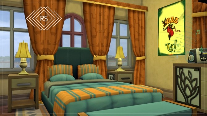 Sims 4 OSBORNE DORMITORY SPIDERMAN 2 at RUSTIC SIMS