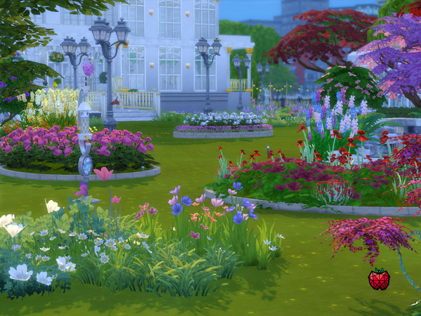 Emerald Gardens by melapples at TSR image 1134 Sims 4 Updates