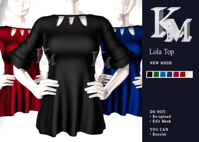 Lola Top at KM image 1148 Sims 4 Updates