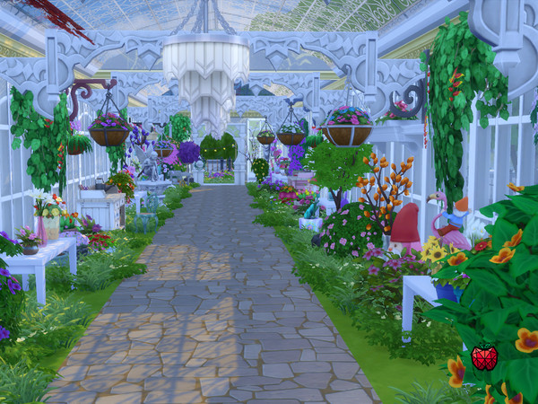 Emerald Gardens by melapples at TSR image 1154 Sims 4 Updates