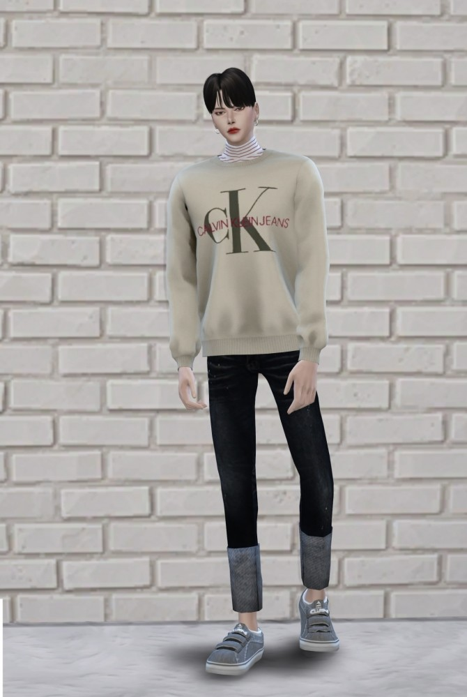 Sims 4 Male mtm2 tops at Chaessi