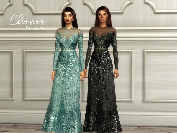 Eleonor embellished dress by laupipi at TSR image 120 Sims 4 Updates
