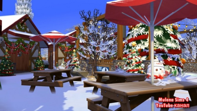CHRISTMAS MARKET at Sims by Mulena image 1208 670x376 Sims 4 Updates