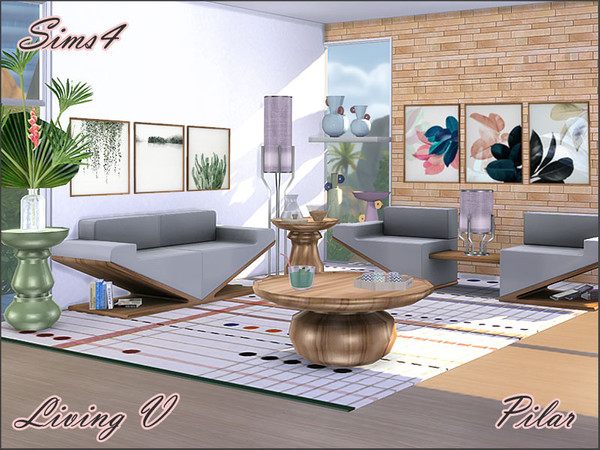 Living V by Pilar at TSR image 121 Sims 4 Updates