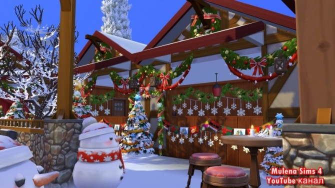 CHRISTMAS MARKET at Sims by Mulena image 12113 670x376 Sims 4 Updates